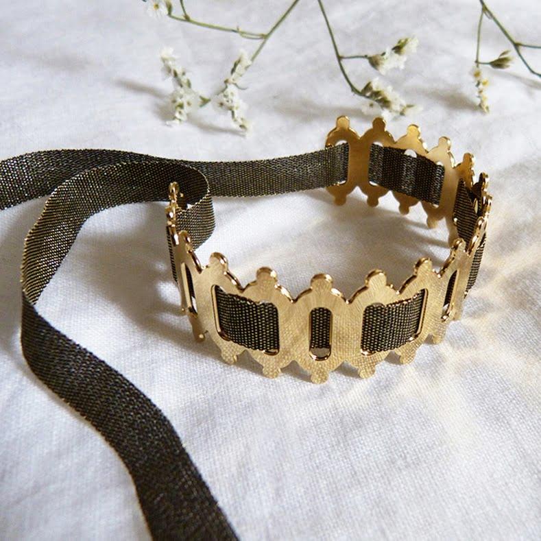 Bracelet Ovale Rond Ruban